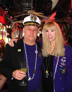 Capt Jim and wife Lynda