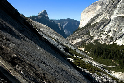 Tenaya Canyon Slabs and Half Dome