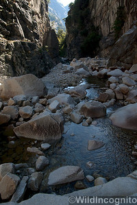 Tenaya Canyon Slot