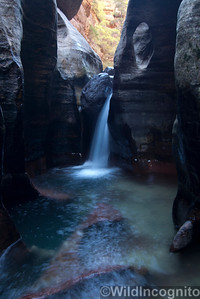 Zion Subway Waterfall