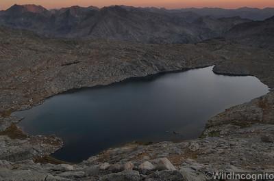 Palisades Basin Barrett Lakes