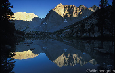 Temple Crag and Third Lake North Fork Big Pine
