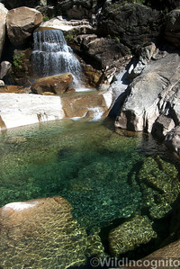 Tenaya Canyon Waterfall and Pool