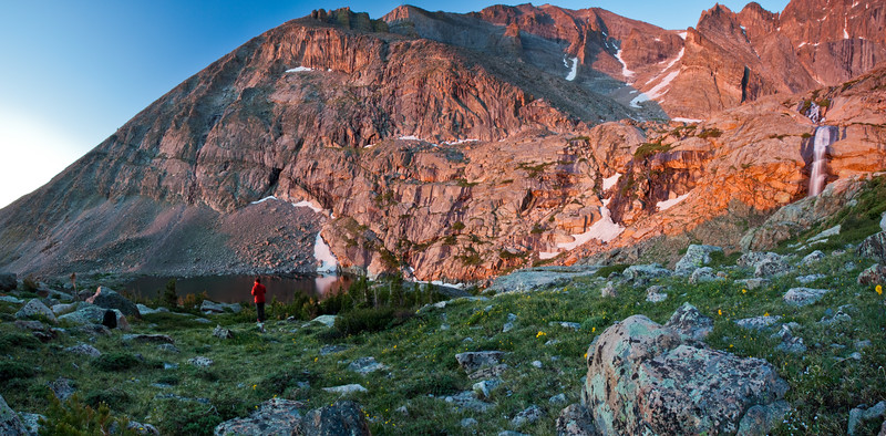 Chasm Lake Hike <br /> Rocky Mountain National Park