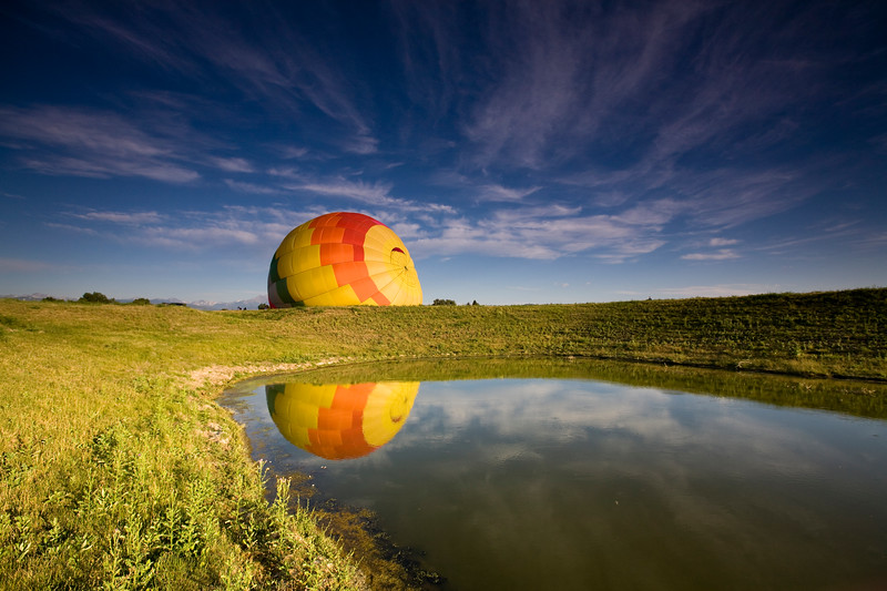 Hot Air Balloon Ride, CO