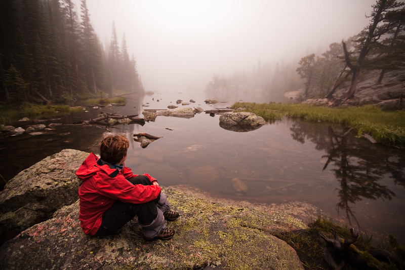 Dream Lake <br /> Rocky Mountain National Park, CO