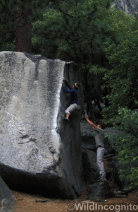 Cocaine Corner Camp 4 Bouldering Yosemite National Park