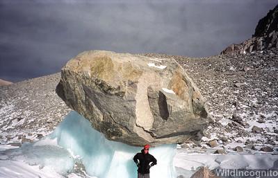 North Palisade Glacier Boulder Problem