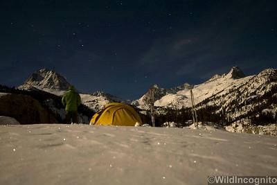 South Lake Winter Night
