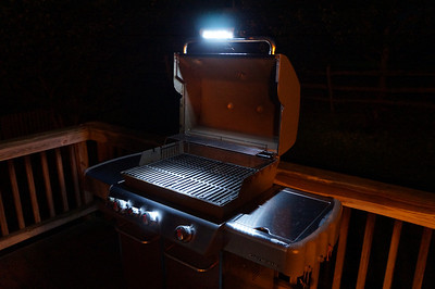 Weber Grill at Night