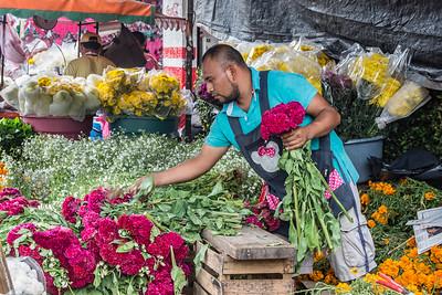 Mercado area & day of the dead
