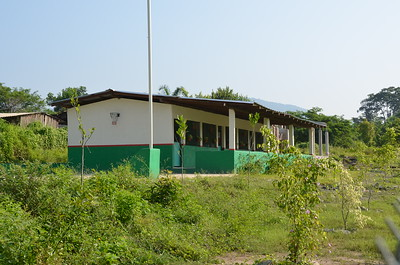Nww school in Barrio  Viejo...built by Emporium hotel. Sailfest assisted by building a bathroom.