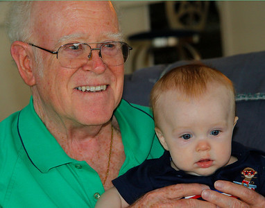 Harry and GreatGrandson Cayden
