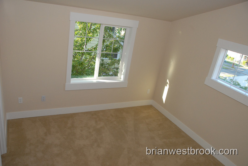 Better photo of the office windows.... There's a lot of carpet to be vacuumed.  :-/