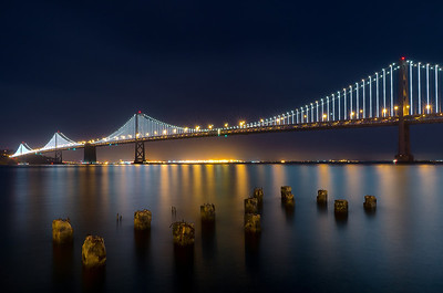 Night on the Embarcadero