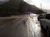 An arroyo flooding in Dixon stopped traffic for a half hour in September.