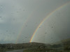 A rainbow over Penasco.