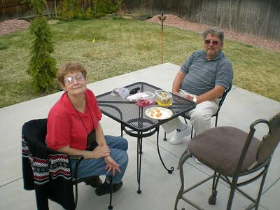 Parents Visit to Denver, Apr 09
