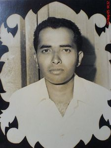 My father Mr. P.J. Joseph on his Wedding Day