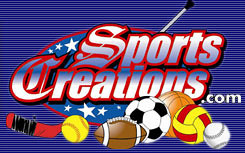 """Check Out  <a href=""""http://www.SportsCreations.com"""">http://www.SportsCreations.com</a><br /> <br /> Sports Creations specializes in custom bag tags and personalized promotional items for sports teams and businesses. Your team logo, business logo, or photo can easily be placed on a sports bag tag , sticker , magnet , golf cart cling , golf hole sponsor sign or custom vinyl banner , t-shirt or license plate to show team pride or increase visibility for your organization. <br /> <br /> Our customized products are great for sports fans, fundraisers, travelers, sports teams, golf outings, schools, backpacks, duffle and garment bags, corporate giveaways and more. Just send us your photo, logo or artwork, and we'll do the rest.<br /> <br /> At Sports Creations there's never a minimum order and all orders are processed within 24 hours of receipt of payment. Best of all, our products are 100% tax-deductible and can be completely personalized with your team colors or your company logo. <br /> <br /> Please email us at john@sportscreations.com to place your order today!"""