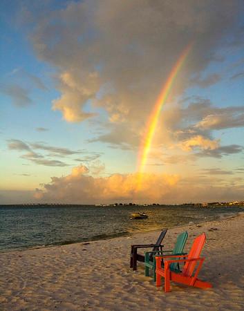 Santa Rosa Sound rainbow