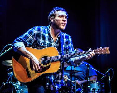 December 10, 2013: Philip Phillips performs at the Jacksonville Veterans Memorial Arena. -James Vernacotola