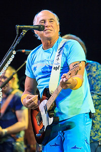 February 7, 2013: Jimmy Buffett in concert at Jacksonville Veterans Memorial Arena. -James Vernacotola