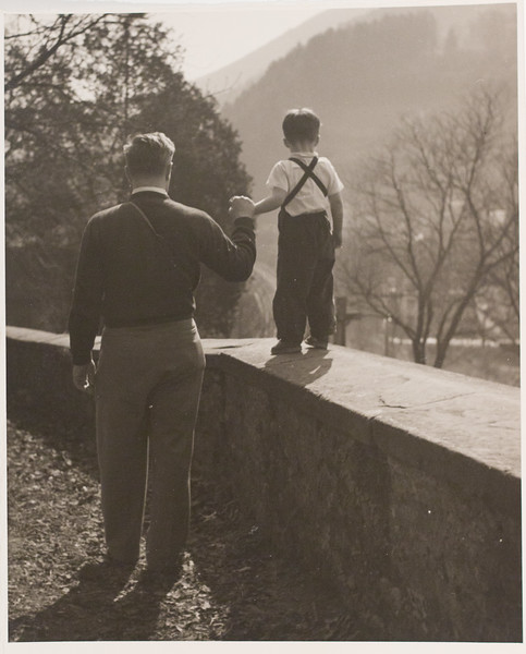 Danny and Stanley, Near Heidelburg (1952-1953)