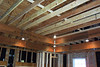 New tray ceiling framing being built.