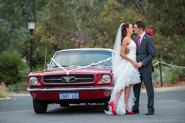 Ford Mustang Limo Perth