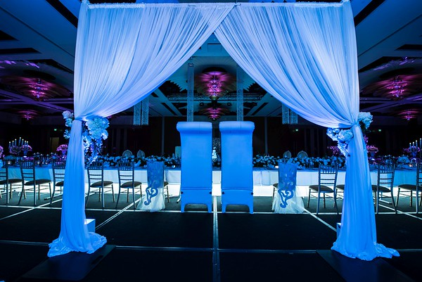 Next level wedding setup Crown Perth