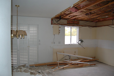 The kitchen needs a lot of work, and it will look a lot worse than this.