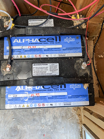 Supply batteries. 12v, wired in parallel.