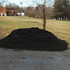 3/11/10;  Needham's delivered 9 yards of Midnight mulch