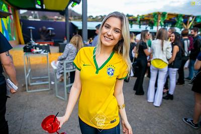 Rooftop naSala - Brasil x Sérvia