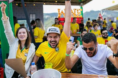 Vila da Copa - Brasil x Sérvia - 27.06.2018
