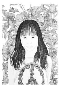 Ella / ink on paper (unframed) / 84.1cm x 59.4cm / original £550 / image 6076