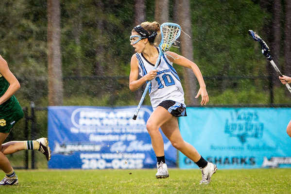 March 30, 2013: JV Lacrosse action - Ponte Vedra vs. Nease at Ponte Vedra High School. -James Vernacotola