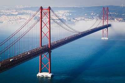 Ponte 25 de Abril Bridge, Portugal