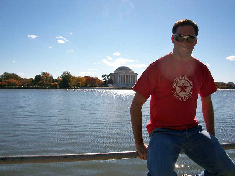 Brian and the Lincoln Memorial