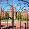 outside the smithsonian castle