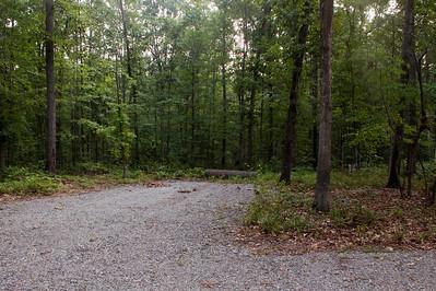 VA, Circular Driveway and Basketball pad