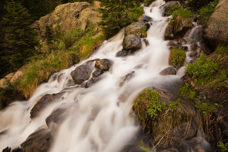 Dream Lake Runoff<br /> Rocky Mountain National Park, CO