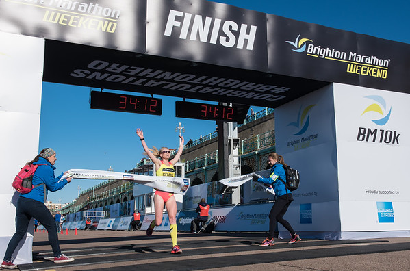 Brighton Marathon 10K Female Winner