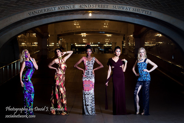Grand Central at Midnight Featuring Ferret Campos Designs