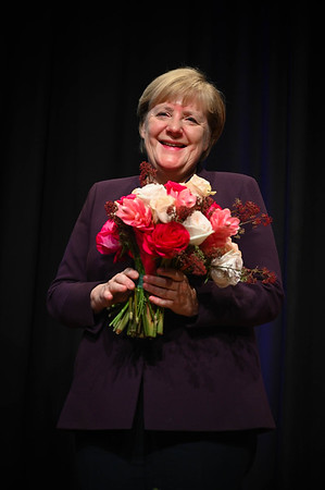 Chancellor of Germany Angela Merkel, Munich, Germany