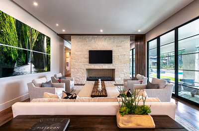 Modern Living Room - Architectural Photography