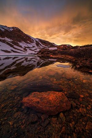 Pass Lake Sunset