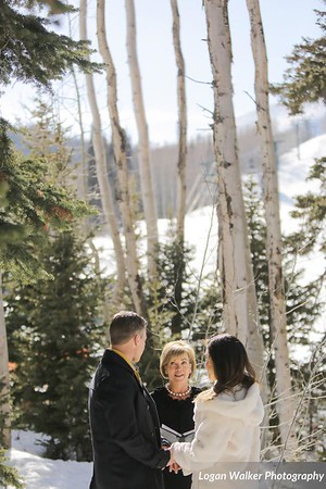 Montage elopement Deer Valley Utah