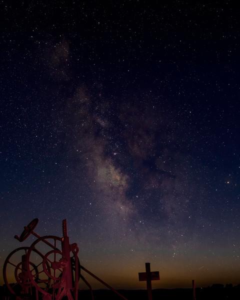 Plowing the Milky Way II